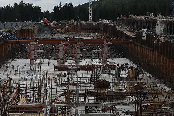budowa ośrodka narciarstwa 2