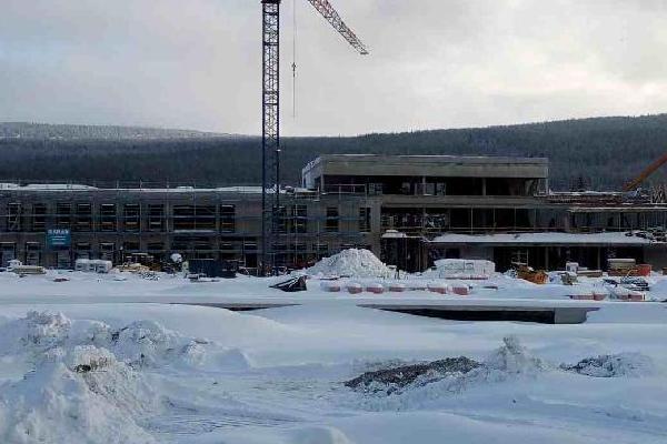 budowa ośrodka narciarstwa 8
